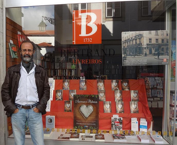 """Em 25 de outubro de 2013, sou convidado pela Porto Editora para o lançamento de """"O arroz de Palma"""", na Biblioteca Municipal de Viana do Castelo, Portugal"""