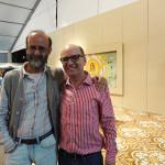 Francisco Azevedo com Luiz Ruffato